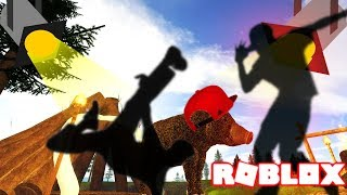 WILDERNESS DANCING WILD HOG IN ROBLOX! Kid Friendly Gaming Channel Role-playing Game Funny Lets Play