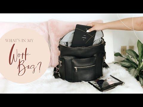 What's In My Work Bag?👜 + GIRLBOSS ESSENTIALS! thumbnail