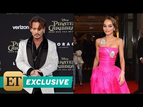 EXCLUSIVE: Johnny Depp Gushes Over Daughter Lily-Rose's Career Success: 'She's a Perfect Creature'