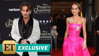 EXCLUSIVE: Johnny Depp Gushes Over Daughter Lily-Rose