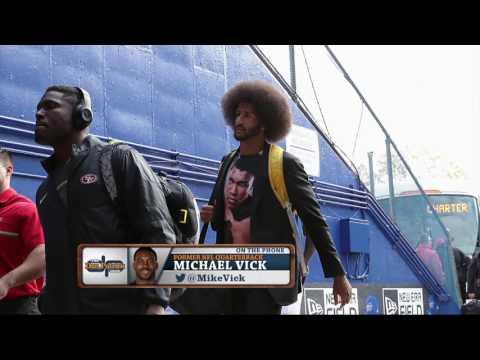 "Former NFL QB Michael Vick Regrets His Kaepernick ""Haircut"" Remarks | The Dan Patrick Show | 7/20/17"