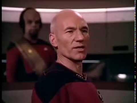 "Captain Picard sings ""Make it So"" (Let it Snow)"
