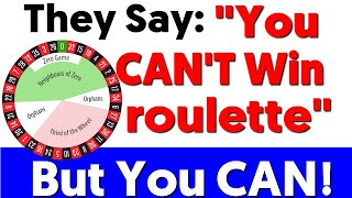 Roulette Can Be Beaten➤House Edge Debunked!