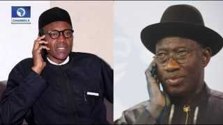 President Jonathan's Phone Conversation With Buhari On March 30