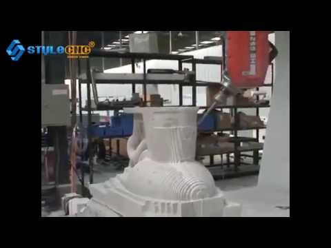 5 Axis CNC Machining Center Making toilet mould