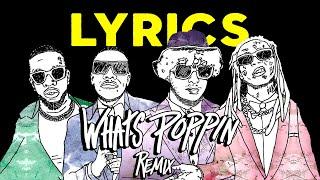 Jack Harlow - WHATS POPPIN Remix ft. DaBaby, Tory Lanez & Lil Wayne (Lyrics)
