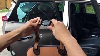 Обзор фастекса автогамака Bag Style (2-in-1) - чехол,накидка, для маленьких собак