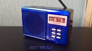 Идеальный дачный радиоприёмник mp3 New Kanon KN-11BT