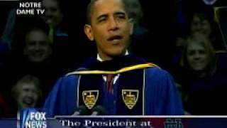 President Obama Notre Dame Speech (Part 1)