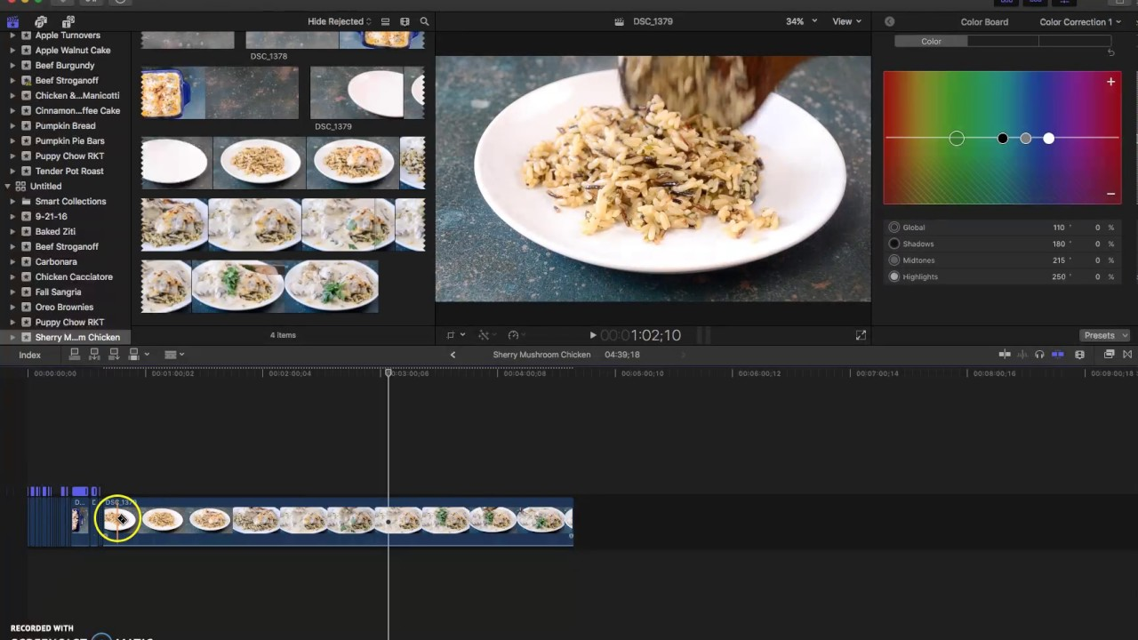 How to edit a short form food video in final cut pro x part 1 how to edit a short form food video in final cut pro x part 1 forumfinder Image collections