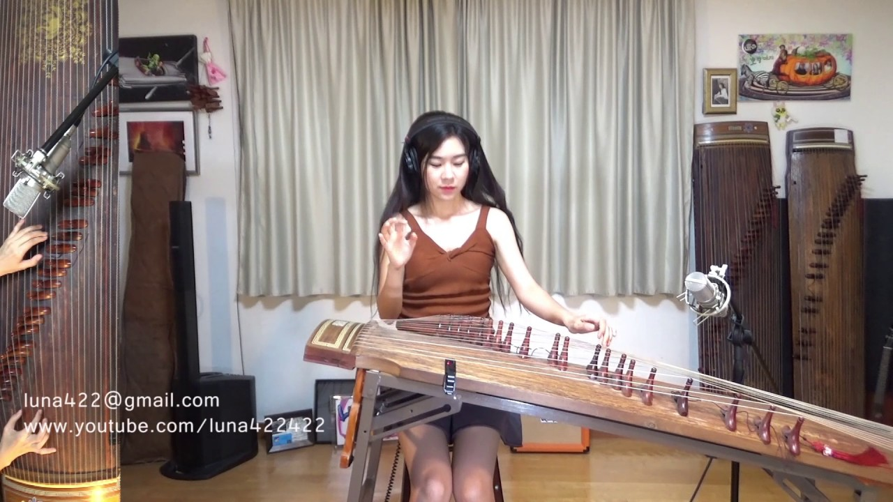Johnny Cash/Nine Inch Nails-Hurt Gayageum ver. by Luna (inspired by ...