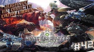 MONSTER HUNTER WORLD - PC - (ESPAÑOL) - ROAD TO PERDER MI VIDA EN EL WORLD !!! # 42