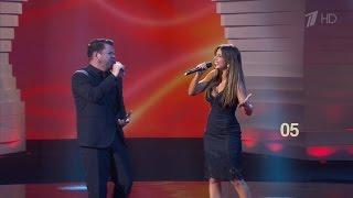 Ани Лорак и Интарс Бусулис Зеркала вечер Г Лепса на шоу ДОстояние РЕспублики от 26 09 2015 HD