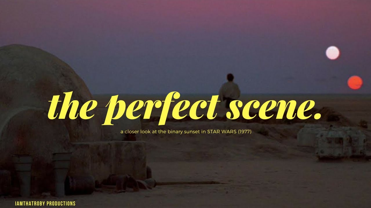 star wars the perfect scene a video essay  star wars 1977 the perfect scene a video essay