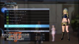 Sword Art Online: Fatal Bullet DLC 1 | Frechdachs Outfit Guide