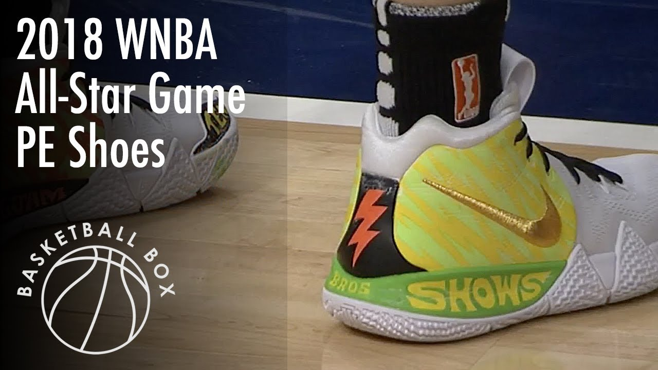 baf980f33 WNBA  2018 All Star Game Nike PE Shoes - YouTube