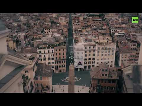 Like an empty museum | Drone shows Rome amid COVID-19 pandemic