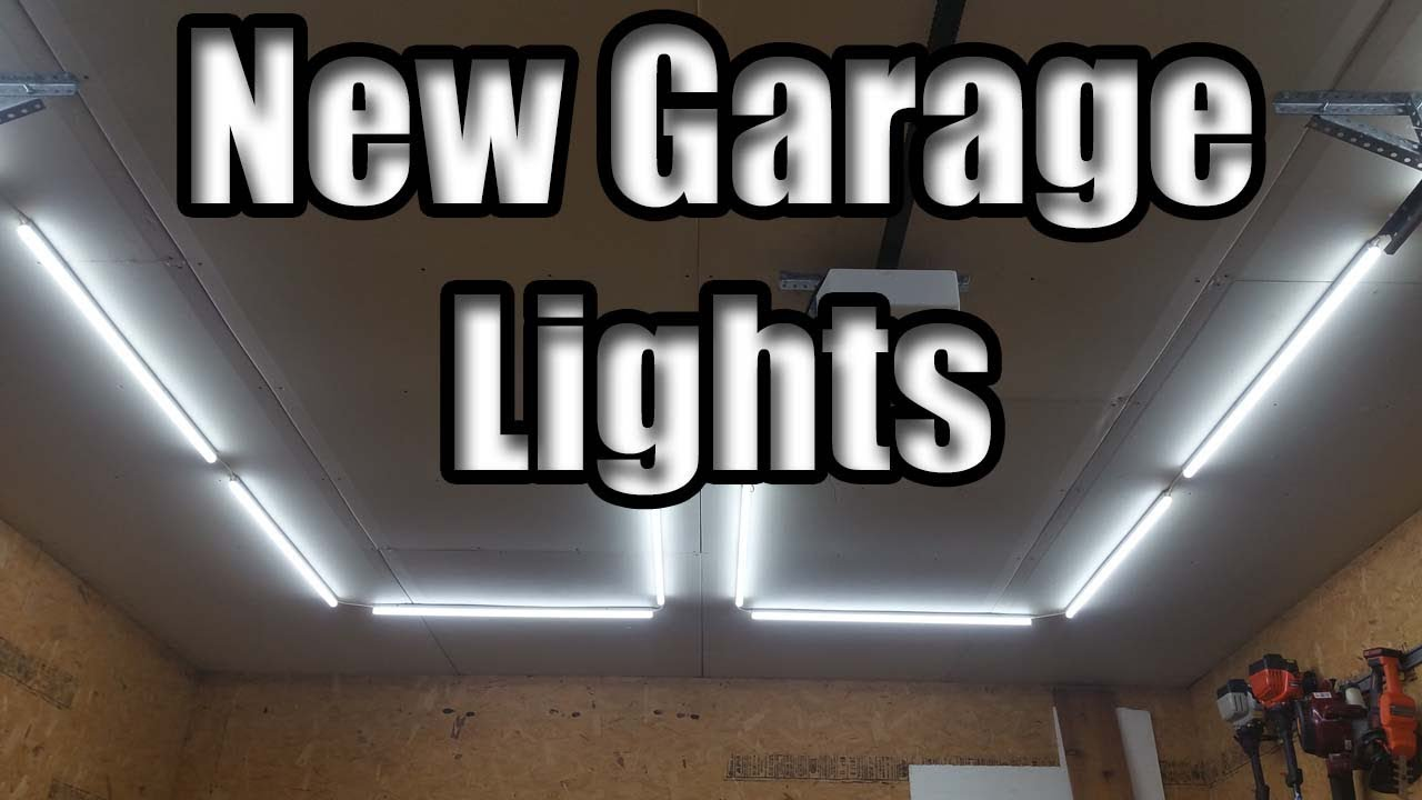 Amazon Barrina Led Light Review And Garage Install Youtube