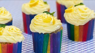 Nejlepší Mákové cupcakes s citronovým krémem – Vařte s Majklem