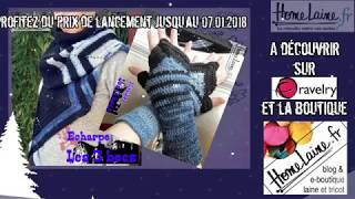 """Mitaines et echarpe """"les 3 becs"""" : patrons crochet"""