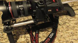 Repeat youtube video Ikea DIY DSLR Shoulder mount