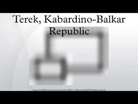 Terek, Kabardino-Balkar Republic