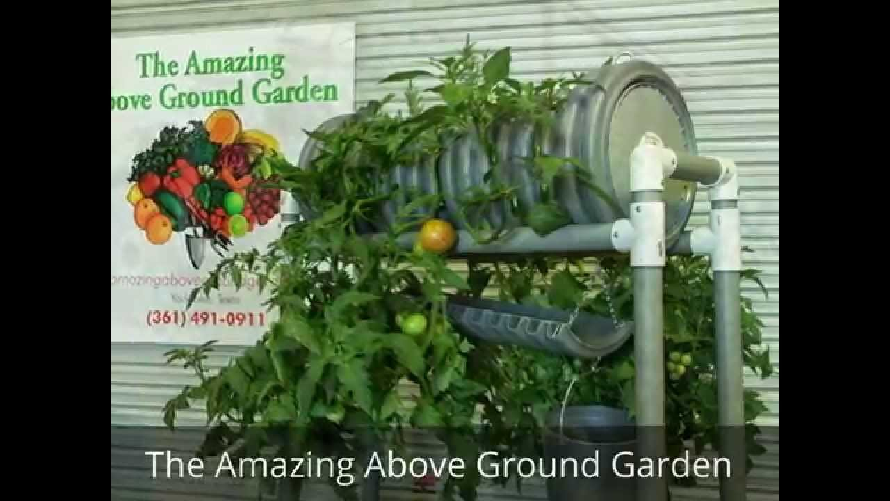 The Amazing Above Ground Garden YouTube