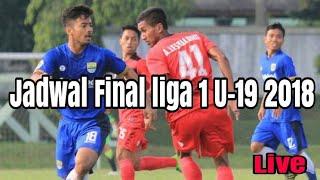 Download Video Live jadwal final liga 1 U-19 Persib Bandung vs persija jakarta MP3 3GP MP4