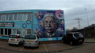 Sightseeing Zernike Campus Groningen Part 2 (Feringa Building Area) | Dutch Bike Blogger 11-01-20
