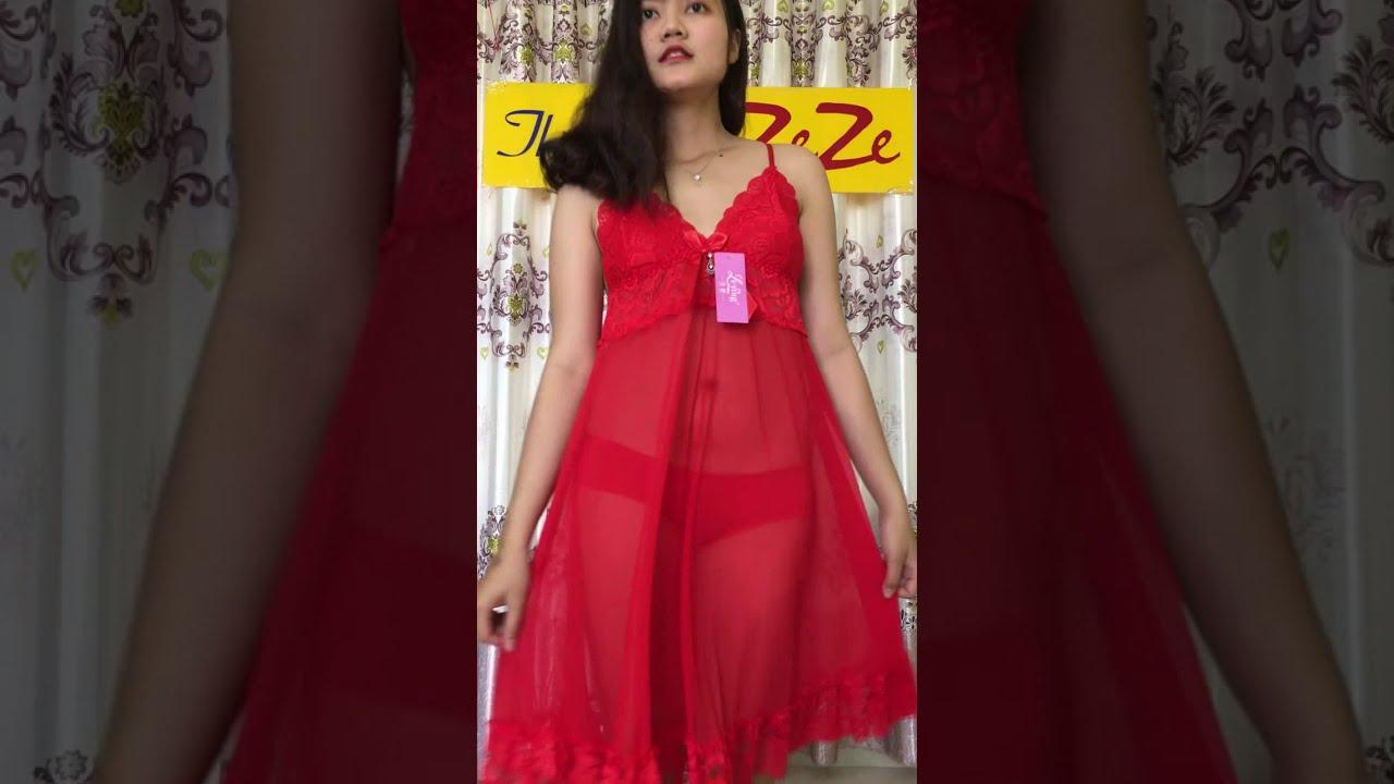 81012 💓 Livestream Bán Váy ngủ đẹp big size đến 80kg. Thời Trang ZeZe – Shop Đồ Ngủ Nữ.