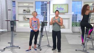 MaxiClimber Full Body Workout Fitness Machine with Dan Hughes