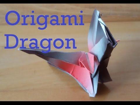 Easy Origami Dragon or Wyvern