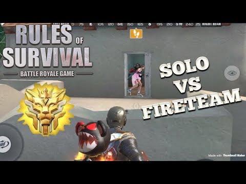 SOLO VS FIRETEAM #5 (19 KILLS) - Rules of Survival