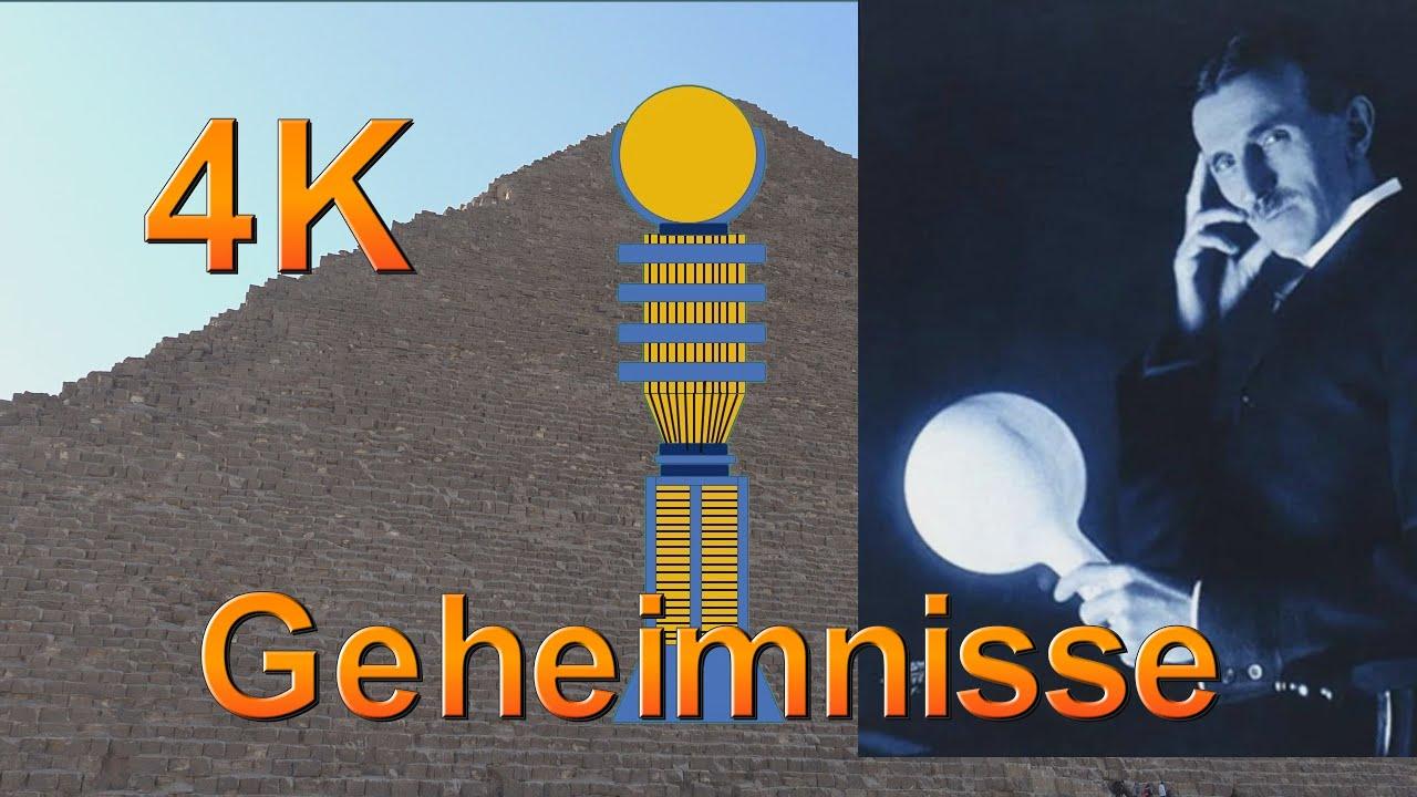 Geheimnisse der Pyramide Doku, Prä Astronautik, Kraftwerk, Tesla und freie Energie? 1. Teil