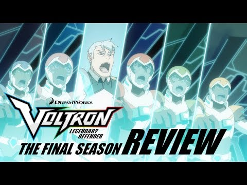 Review - Voltron: Legendary Defender Season Eight (Final Season)