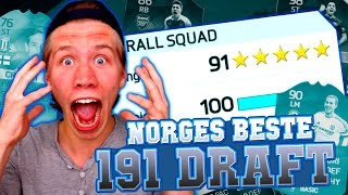 NORGES FØRSTE 191 FUT DRAFT PÅ YOUTUBE!!