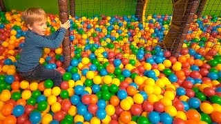 Indoor Playground Fun for Kids at Dinos Legeland