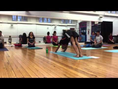 plank to downward facing dog to child pose chi kri yoga