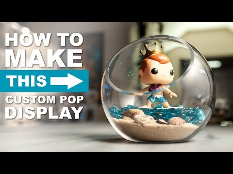 $20 Custom Funko Pop Display - HOW TO