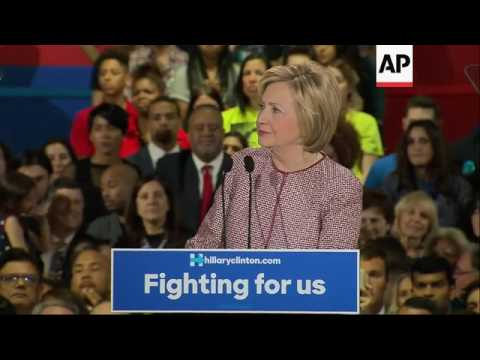 Hillary Clinton Wins New York Primary