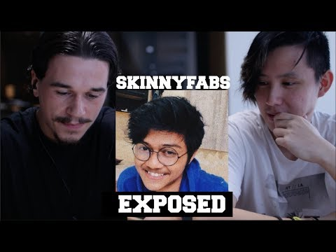 BRITISH REACT TO SKINNYFABS (INDONESIAN WITH BRITISH ACCENT!)