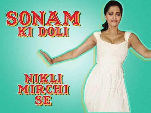 Sonam Kapoor dances on Phatte Tak Nachna Song at the Radio Mirchi Studio