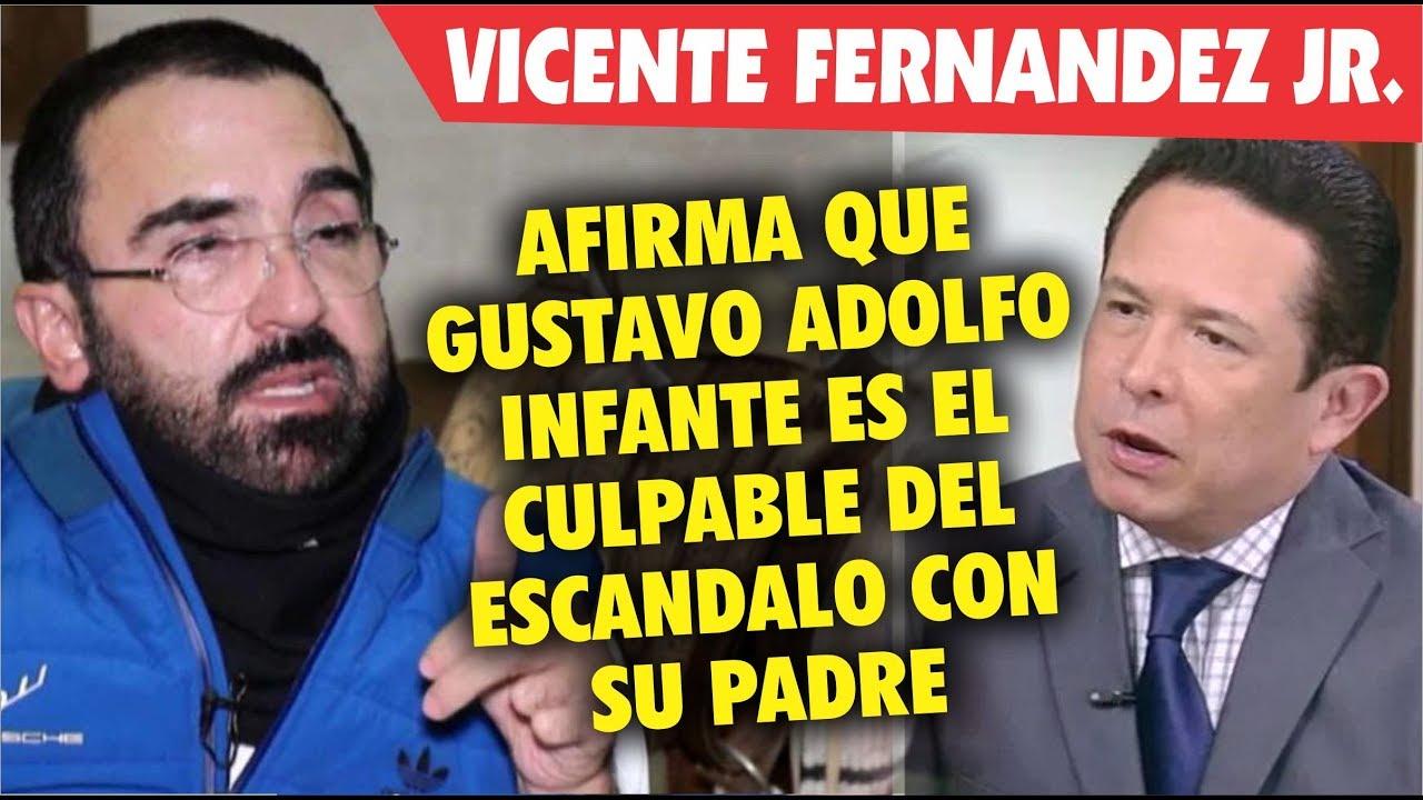 Hijo De Vicente Fernandez Acusa A Gustavo Adolfo Infante De Mal