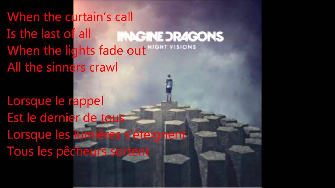 Imagine Dragons Demons Parole Et Traduction Youtube