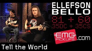 frank bello and dave ellefson play tell the world from altitudes attitude on emgtv