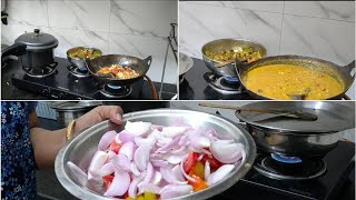 Tuesday lunch routine  चन तडक recipe  Exercise for Flat belly