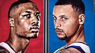 Warriors 2017 Playoffs: R1, G1 VS TrailBlazers