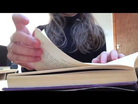 ASMR Slow Book Page Turning (No Talking) Intoxicating Sounds Sleep Help Relaxation