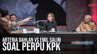 Ragu Ragu Perpu: Arteria Dahlan Vs Emil Salim Soal Perpu Kpk (part 4) | Mata Najwa