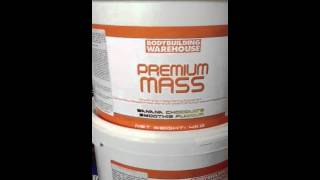 Bodybuilding warehouse premium mass review